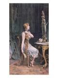 Golden Hair, 1894 (Colour Litho) Giclee Print by Frederik Hendrik Kaemmerer