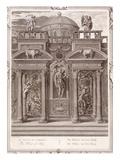 The House of Sleep, 1731 (Engraving) Giclee Print by Bernard Picart