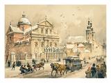 Church of Ss. Peter and Paul, Krakow, from 'Klejnoty Miasta Krakowa', Published 1899 (Colour Litho) Giclee Print by Juliusza & Tondosa, Stanislawa Kossaka