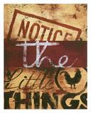 Notice The Little Things Reproduction procédé giclée par Rodney White
