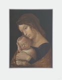 The Virgin with Sleeping Child Samletrykk av Andrea Mantegna
