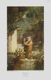 The Pensioner (large) Sammlerdrucke von Carl Spitzweg