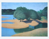 Sands at the Loire Kunstdruck von Felix Valloton