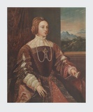 Isabella of Portugal Collectable Print by  Titian (Tiziano Vecelli)