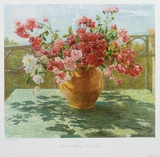 Bush-roses Collectable Print by Hedwig Neumann