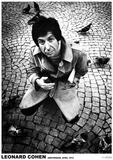 Leonard Cohen Kunstdruck