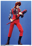 David Bowie- Holland 1974 Poster