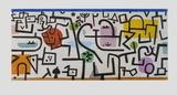 Rich Harbour Impressão colecionável por Paul Klee
