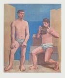 Pipes of Pan Impressão colecionável por Pablo Picasso