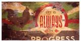Always In Progress Giclée-Druck von Rodney White