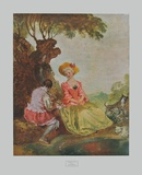 Pastoral Collectable Print by Antoine Watteau