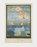 Exotic Riverside Collectable Print by Paul Klee