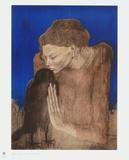 The Woman with the Raven Impressão colecionável por Pablo Picasso