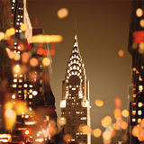 City Lights-New York Prints by Kate Carrigan