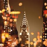 City Lights-New York Posters por Kate Carrigan