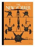 The New Yorker Cover - August 6, 2012 Reproduction giclée Premium par Frank Viva