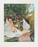 Women in the Garden Collectable Print by Claude Monet