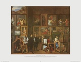 Collection of Archduc Leopold-William in Brussels Poster von David Teniers the Younger