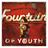 Fountain Of Youth Giclée-Druck von Rodney White