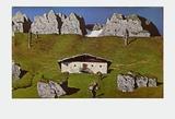 Kaiser Alp Plakater av Alfons Walde