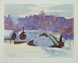 Landscape in March