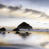 Twilight on the Coastline Poster di Danita Delimont