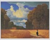 The Harvest , 1859 ポスター : ロバート・ズエンド