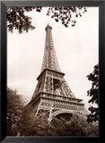 Eiffel Tower in Spring Posters by Jonathan Larsen