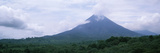 Clouds over a Mountain Peak, Arenal Volcano, Alajuela Province, Costa Rica Fotografisk tryk