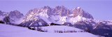 Wilder Kaiser Austrian Alps Photographic Print by  Panoramic Images