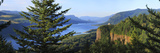 Observatory at a Hill, Crown Point Vista House, Crown Point, Columbia River Gorge, Multnomah Cou... Photographic Print
