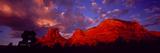Rocks at Sunset Sedona AZ USA Fotografisk trykk av Panoramic Images,