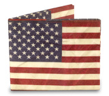 Stars and Stripes Tyvek Mighty Wallet Pung