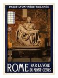 Pieta by Michelangelo, Roma Italy 3 Lámina giclée por Anna Siena