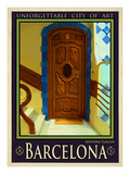 Barcelona Spain 3 Giclee Print by Anna Siena