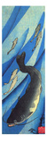 Catfish 1 Giclée-tryk af Kuniyoshi Utagawa