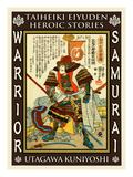 Samurai Kato Yoshiaki Giclee Print by Kuniyoshi Utagawa