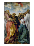 The Ascension of Christ Print by Hans Suess Kulmbach
