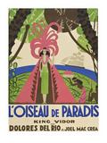 """Bird of Paradise """"L'Oiseau De Paradis"""" Posters"""