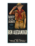 Scotty of the Scouts - True as Steel Premium Giclee-trykk
