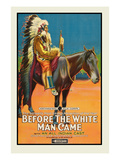 Before the White Man Came Premium gicléedruk