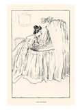 The Mother Prints by Charles Dana Gibson