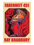 Farenheit 451 Poster von Ray Bradbury