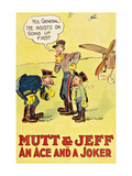 Mutt and Jeff - an Ace and a Joker Poster