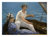 Boating Posters by Edouard Manet