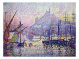 Notre-Dame-De-La-Garde (La Bonne-Mère), Marseilles Art by Paul Signac
