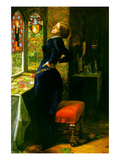 Marianna in the Moated Grange Art by John Everett Millais