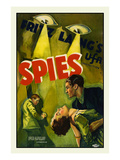 Spies Posters by Fritz Lang