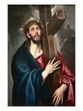 Christ Carrying the Cross by Greco Arte por  El Greco