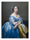 Princes De Broglie Affiches par Jean-Auguste-Dominique Ingres